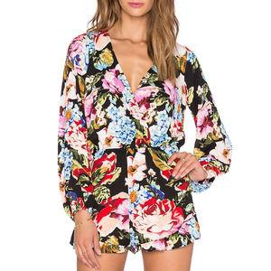 Show Me MuMu Floral Rocky Romper Country Garden S